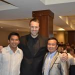 With Pastor Sara San and Oum Meng
