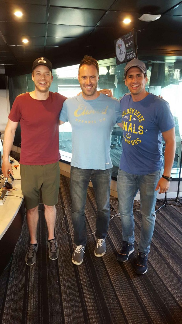 Hamish sets Ben a Challenge to impersonate Andy on 101.9 The Fox
