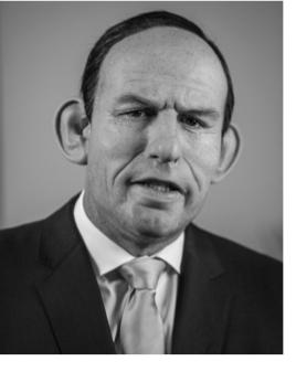 Abbott black and white