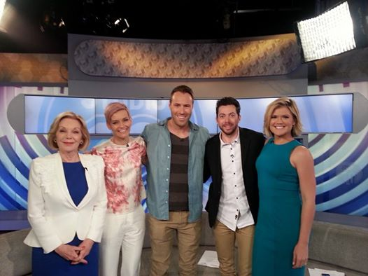 Me with Studio 10 cast